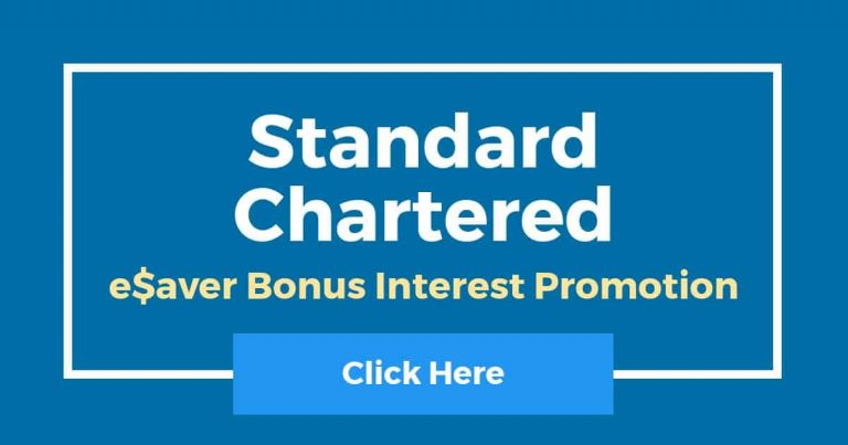 Standard Chartered eSaver Bonus Interest Rate Promotion 2021