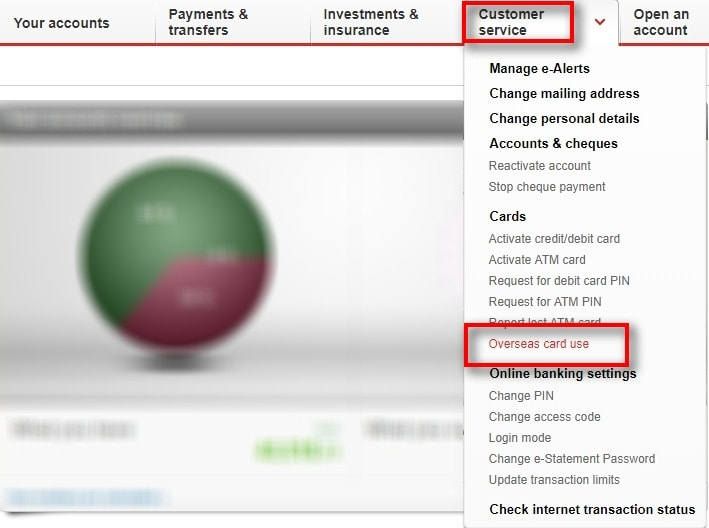 How To Activate OCBC Card For Overseas Use 1