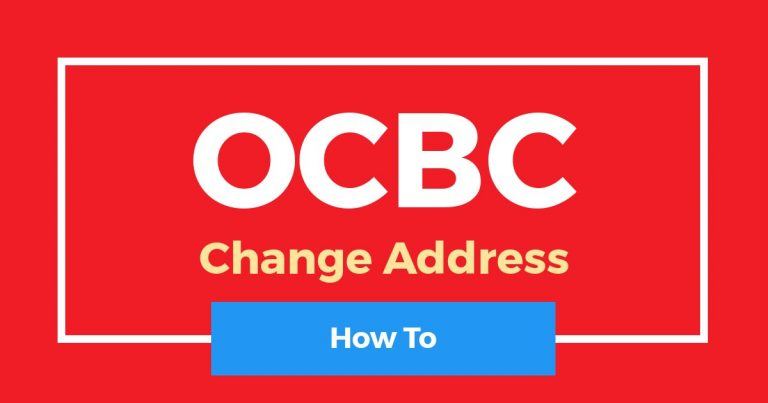 How To Change OCBC Mailing Address