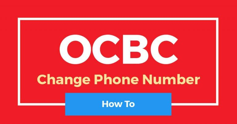 How To Change OCBC Phone Number