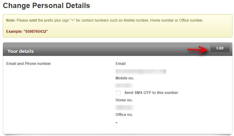 How To Change OCBC Phone Number 3