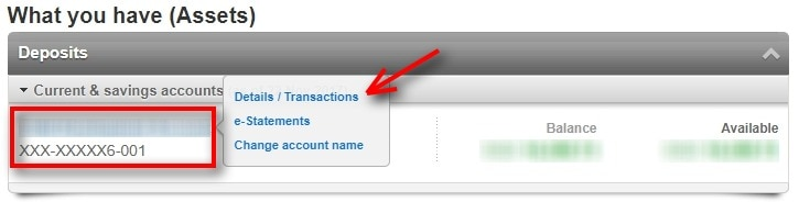 How To Check OCBC Account Number 1
