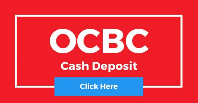 How To Deposit Cash In OCBC