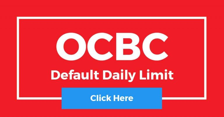 What Is OCBC Default Daily Limit