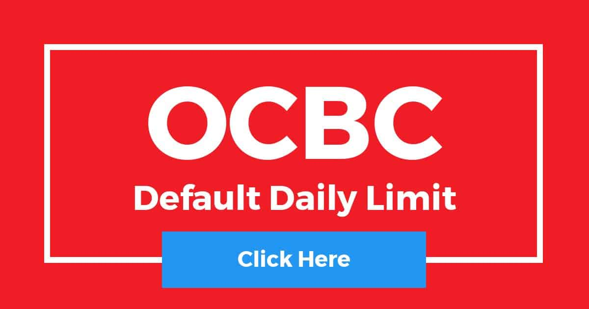OCBC Default Daily Limit