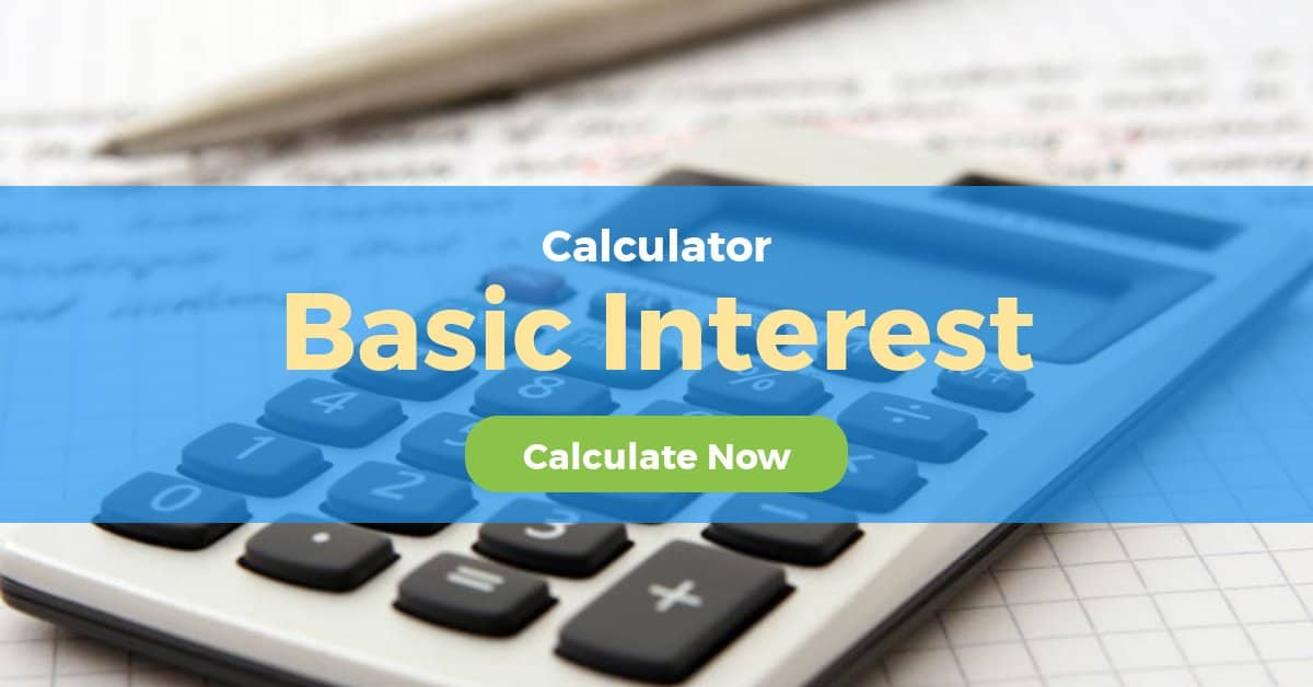 Basic Interest Calculator