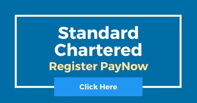 How To Register PayNow In Standard Chartered