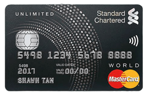 Standard Chartered Unlimited Cashback Credit Card