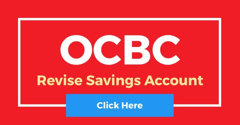 [Revise] OCBC Savings Account Interest Rates