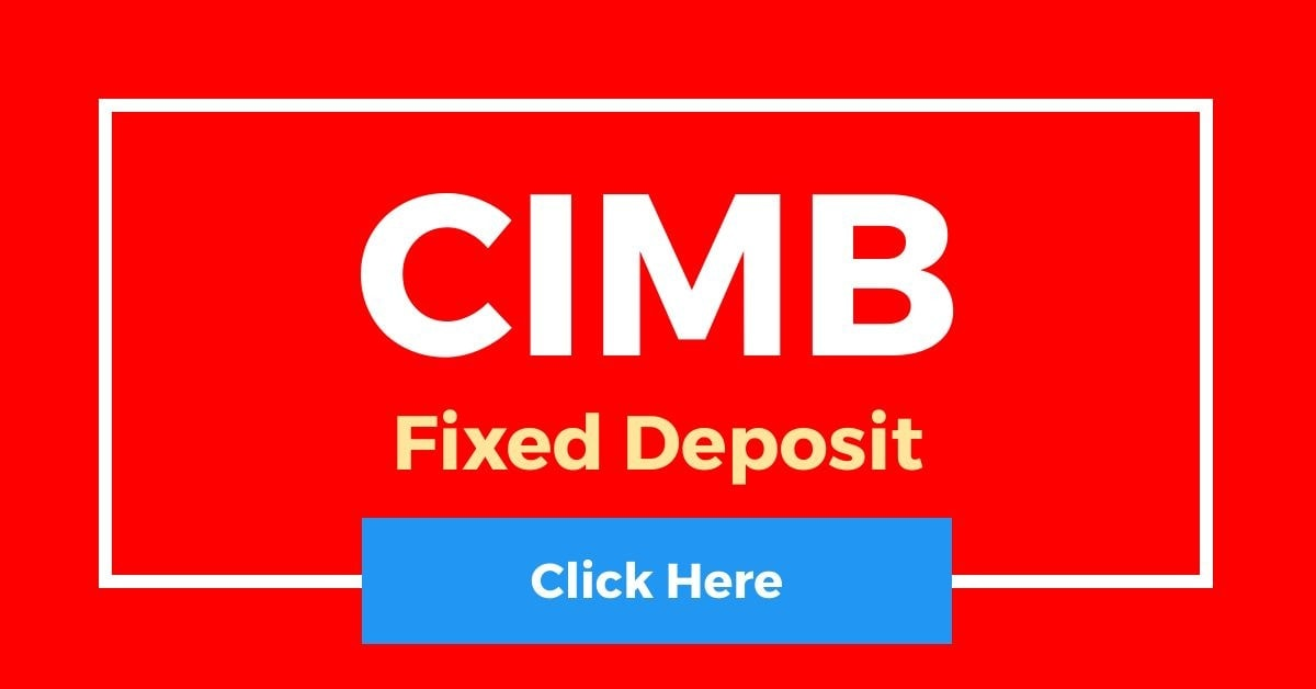 CIMB Fixed Deposit