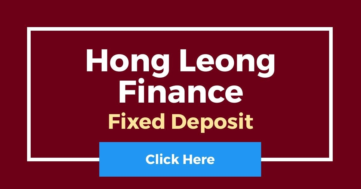 Hong Leong Finance Fixed Deposit