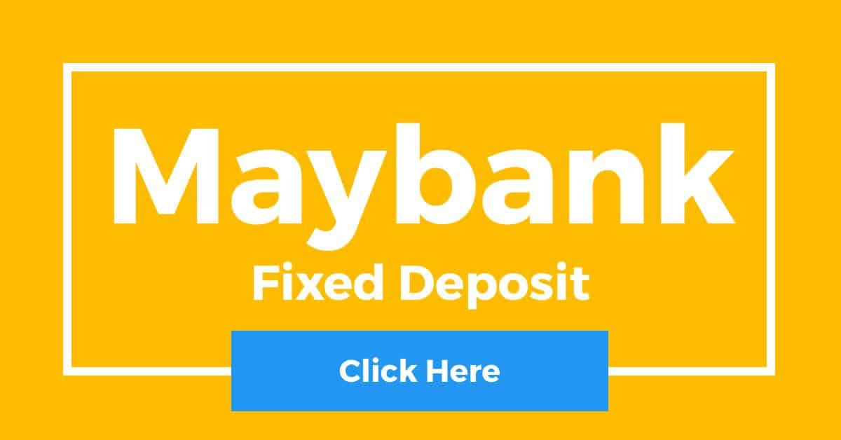 Maybank Fixed Deposit