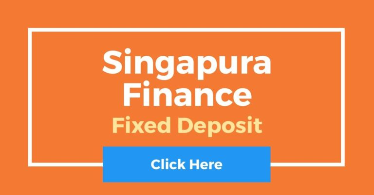 Singapura Finance Fixed Deposit