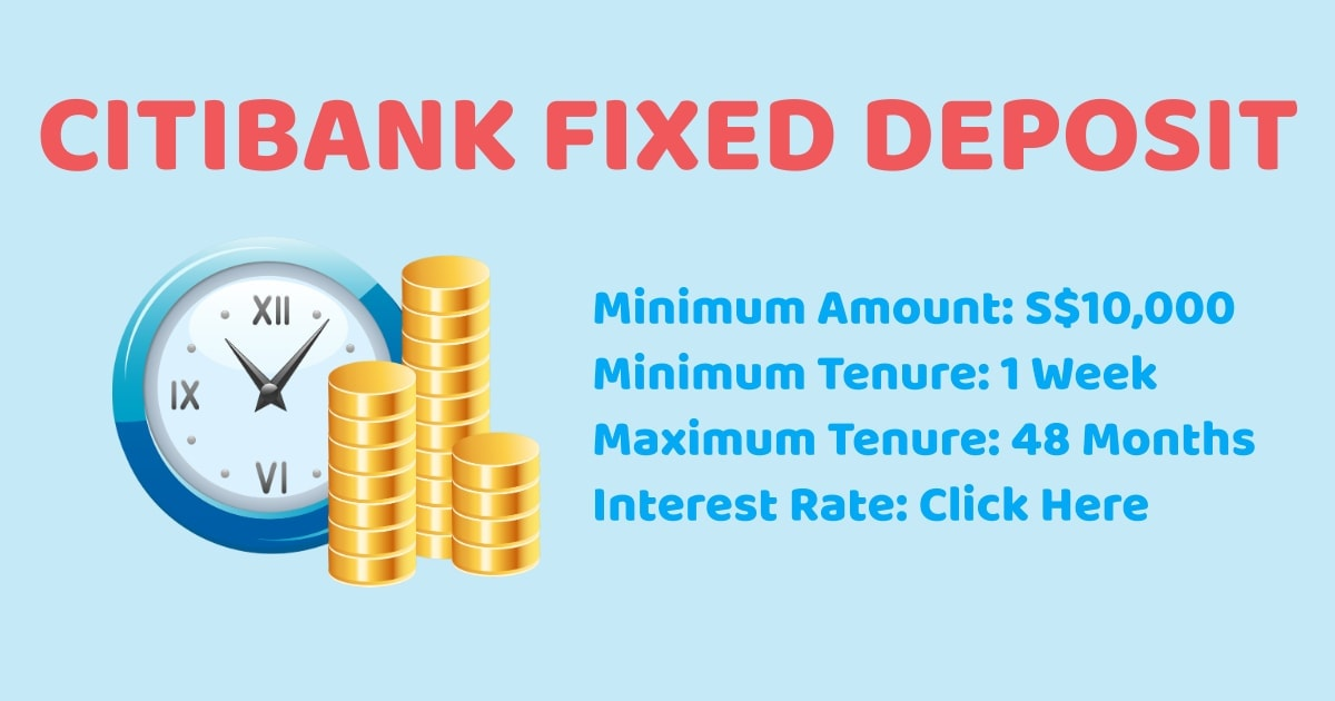 Citibank SG Fixed Deposit
